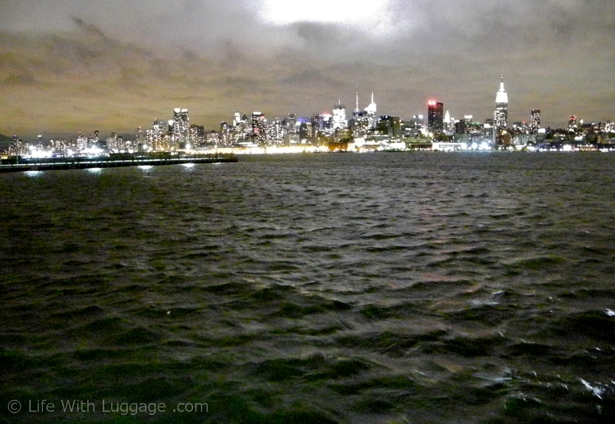 Hudson River Before Hurricane Sandy