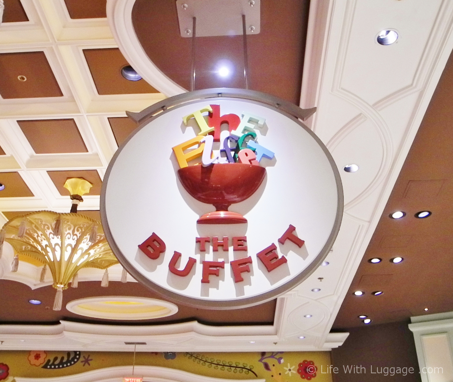 The buffet at the Wynn